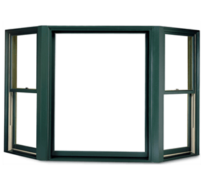 An Andersen replacement bay window in Cincinnati, OH