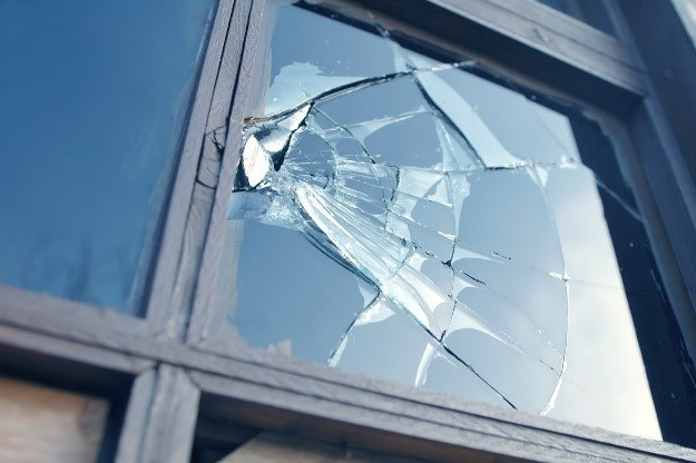 broken windows in your home